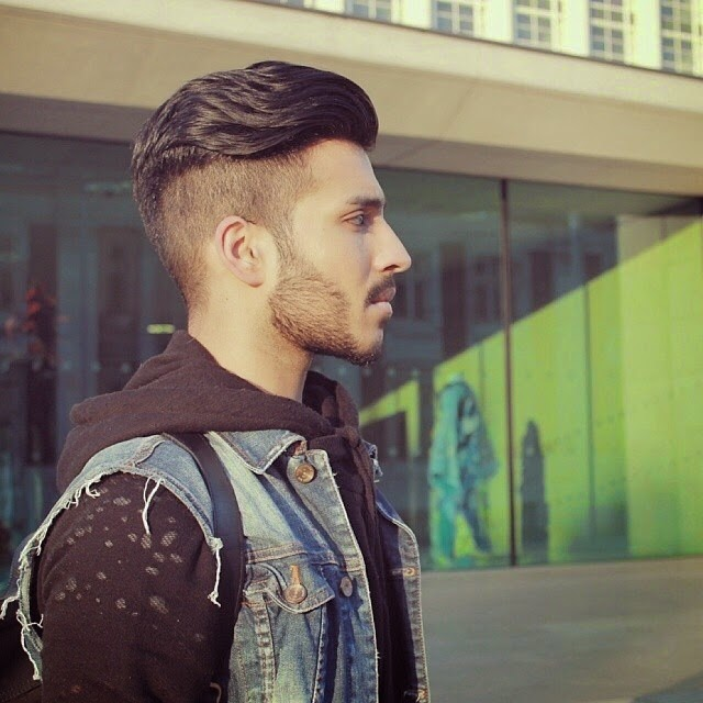 The Top Trending Hair Styles For Men Of StreetFashionnet - Hairstyle side cut for man