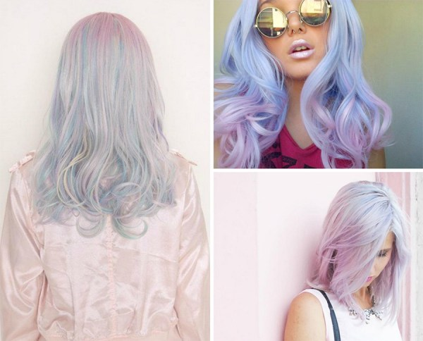 Unicorn hair color!