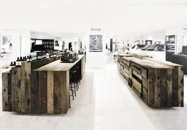 Aesop store – Hong Kong