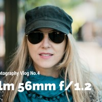 Street Style Photography with Fuji 56mm 1.2 - Vlog No.4