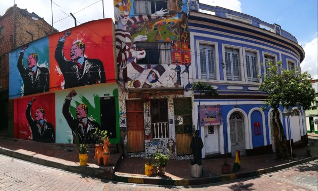 An Amazing Tour Through Bogota's Street Art