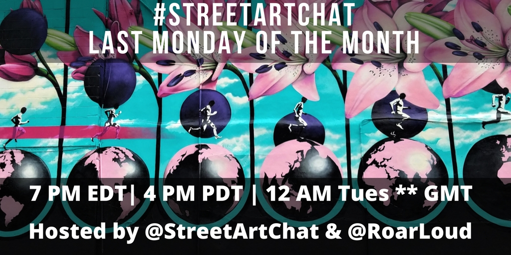 Street Art Chat Times