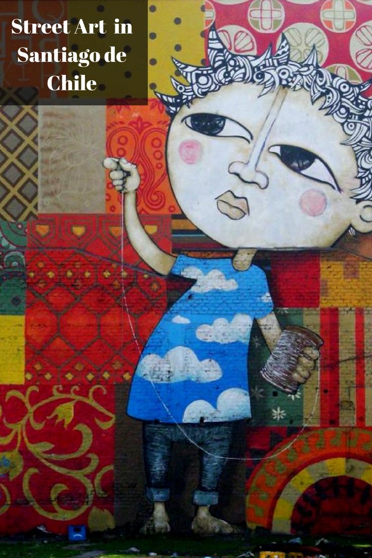 street art in Santiago de Chile
