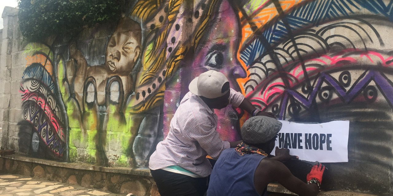 Sharing Global HOPE – One Mural at a Time