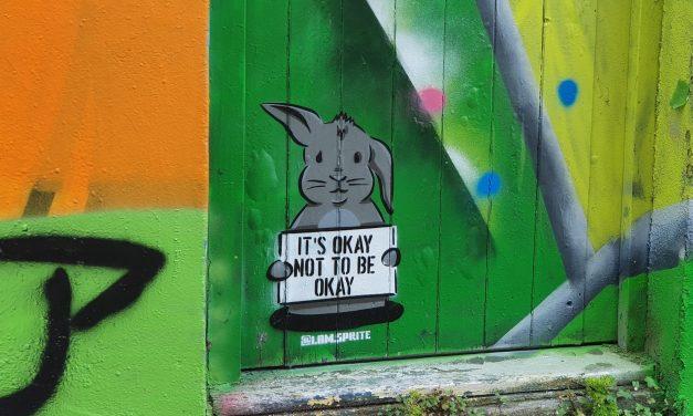 Street Artist Sprite's Inspiring Mental Health Message