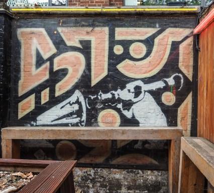 """Banksy 51°31'35"""" N 0°4'44"""" W"""