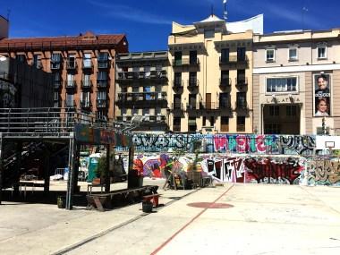 """Mercado de la Cebada 40°24'40"""" N 3°42'32"""" W"""