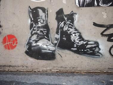 alte Schuhe von Nice Art