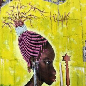 Mural von Huami