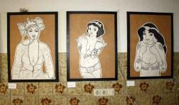drei Damen