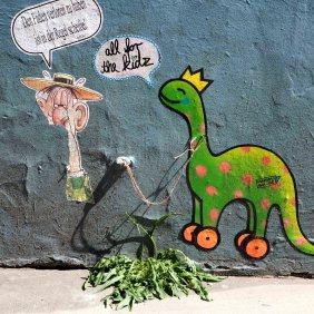 ein Mann und ein Dino von Ja!Da! und Marambolage