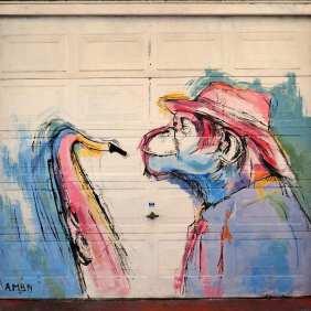 """Alsira Monforte Baz """"Monkey Jazz"""" 40°58'14"""" N 5°40'7"""" W"""