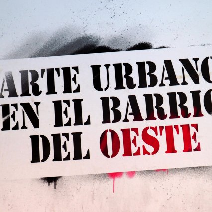 Arte urbano en el Barrio del oeste