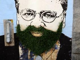 grüner Bart