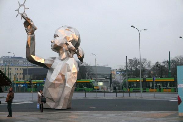 Monumental Sculpture 'lucie' David Mesguich In Poznan