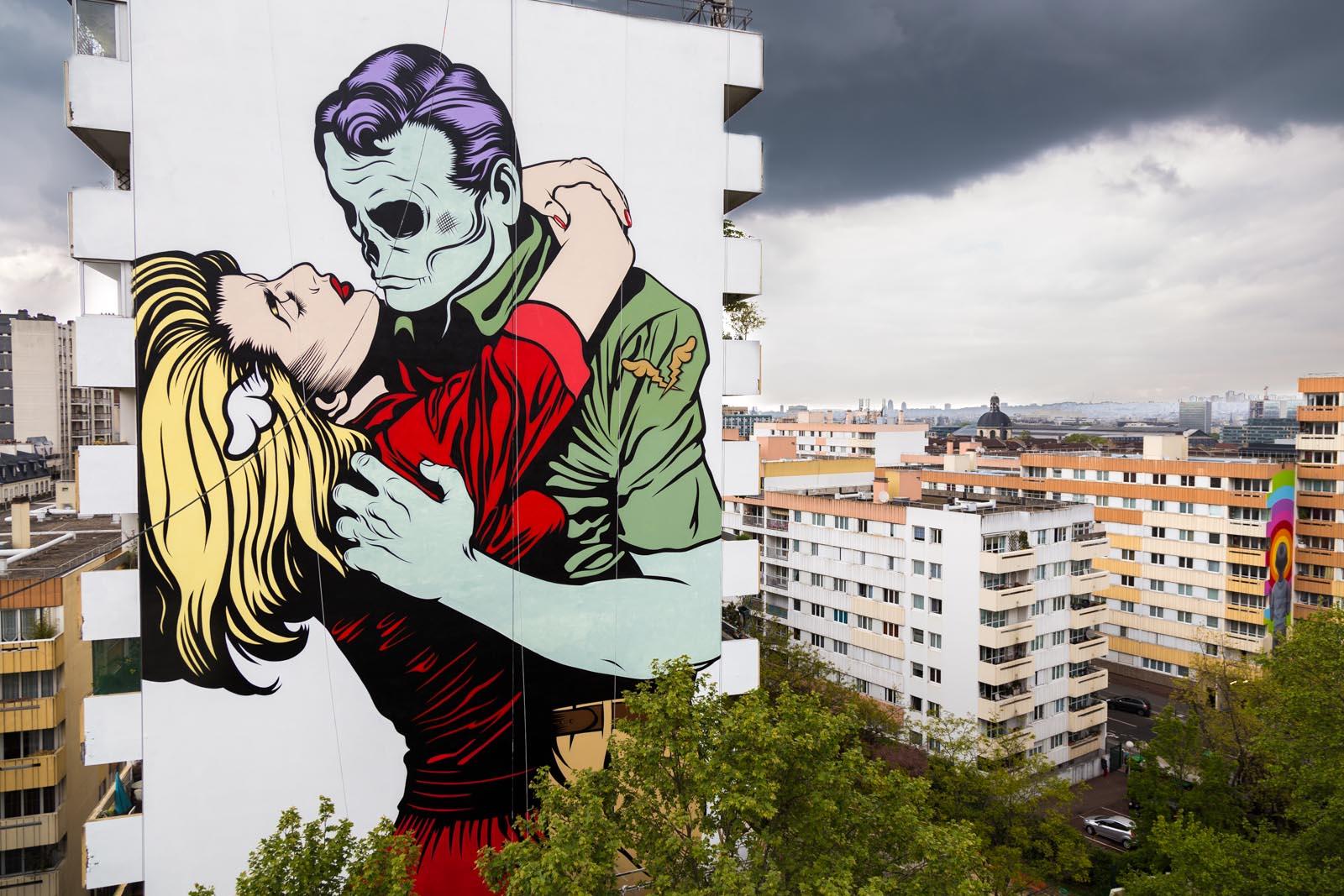 Love Wont Tear Us Apart By DFace In Paris France