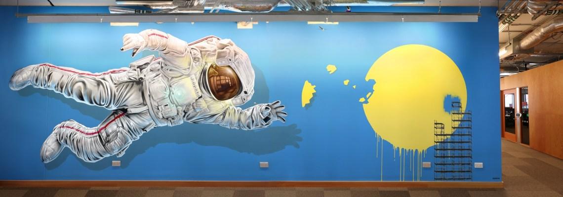Astronaut - Facebook Dublin 2014
