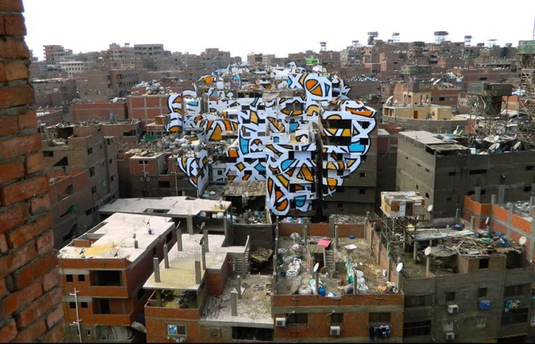 Blog: 'Perception' is eL Seed's latest offering covering 50 buildings in Cairo.