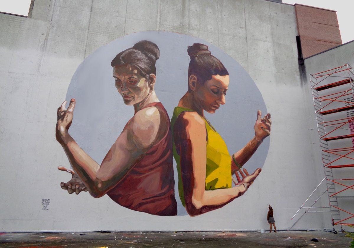 Milu Correch in Louvain-la-Neuve, Belgium