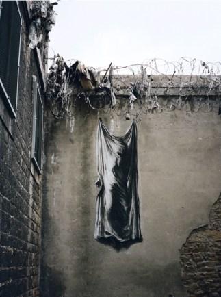 """""""Linceul"""" Saint Paul prison, Lyon, 2012."""