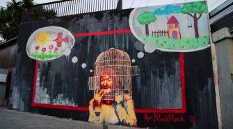 Roc Blackblock in L'Hospitalet de Llobregat