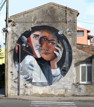 SKAN in San Gavino Monreale, Italy