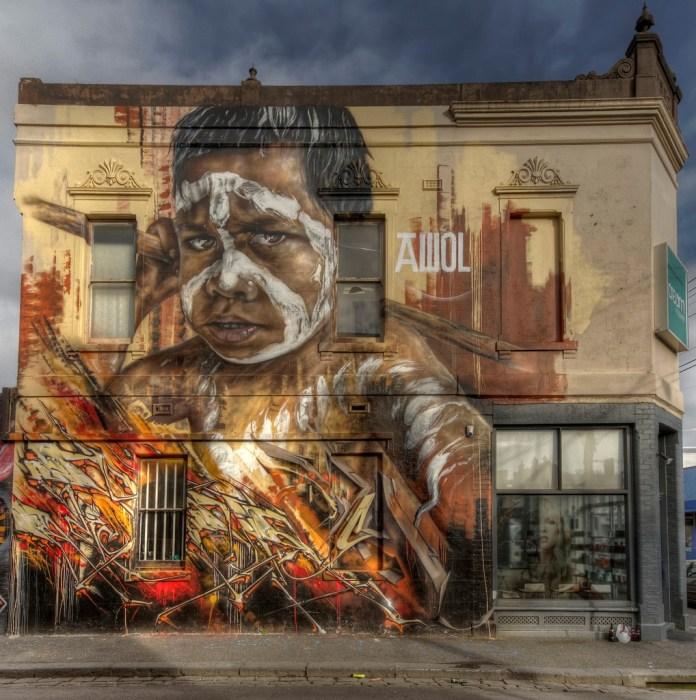 By AWOL Crew in Fitzroy, Melbourne, Australia