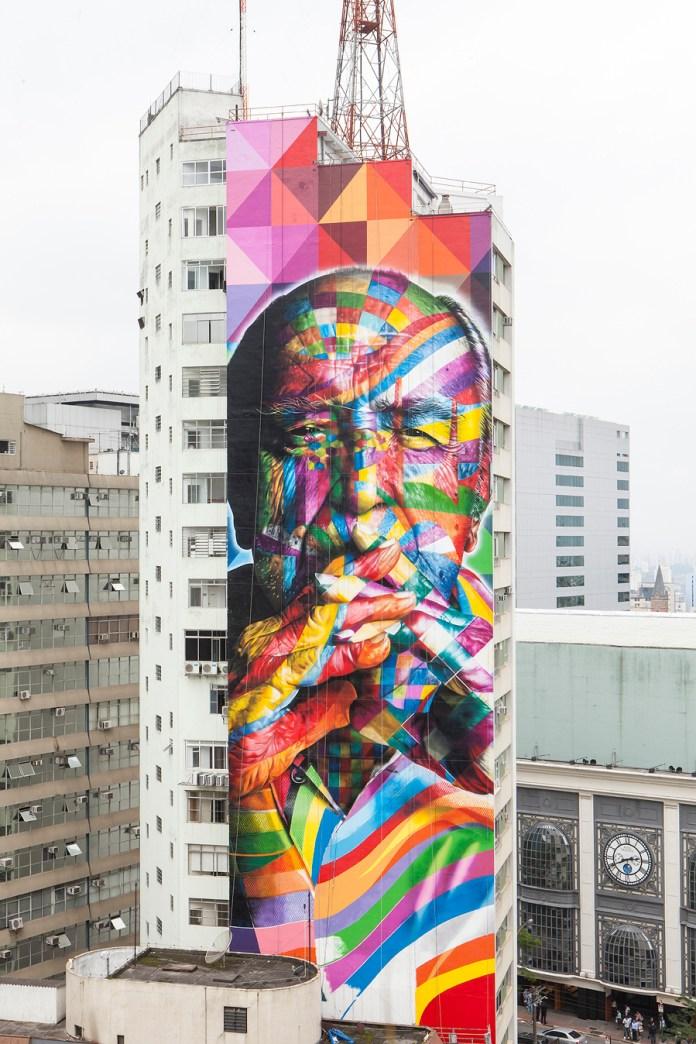 By Kobra in São Paulo, Brazil 1