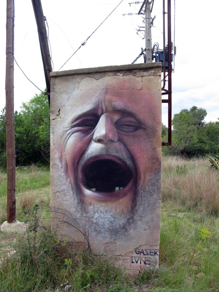 Street Art by Gaser in Spain