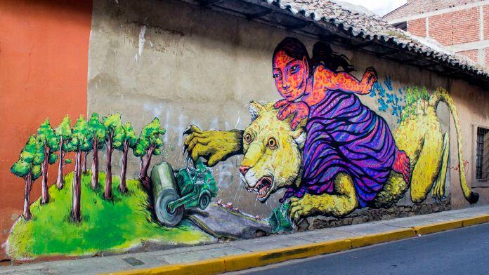 Street Art by Bastardilla and Erica il Cane at BAU13 1
