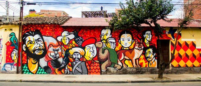 Street Art by Brigada Negotropica at BAU13