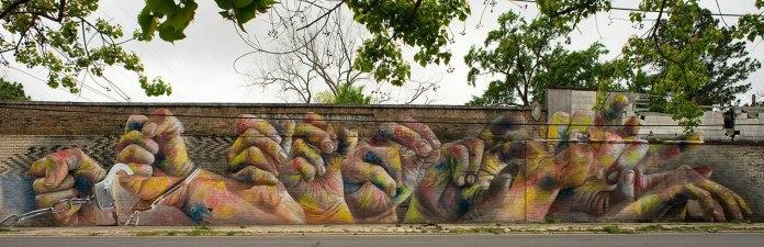 Street Art by CASE in Baton Rouge, Louisiana, USA