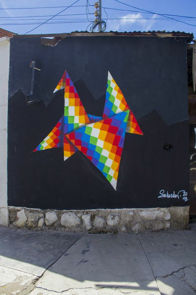 Street Art by Salvador-Japichy at BAU13 2