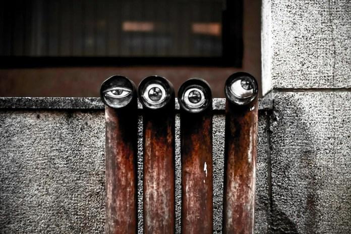 Street Art in Vilnius, Lithuania