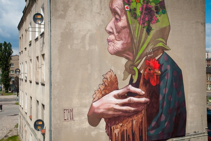 Street Art by ETAM CRU in Lodz, Poland 3
