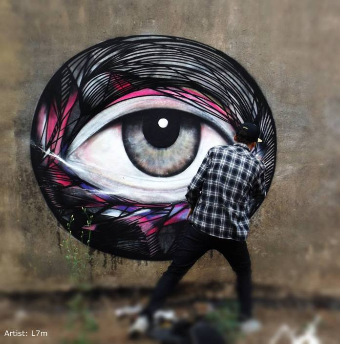 Street Art by L7m in Sao Paulo, Brazil 348769