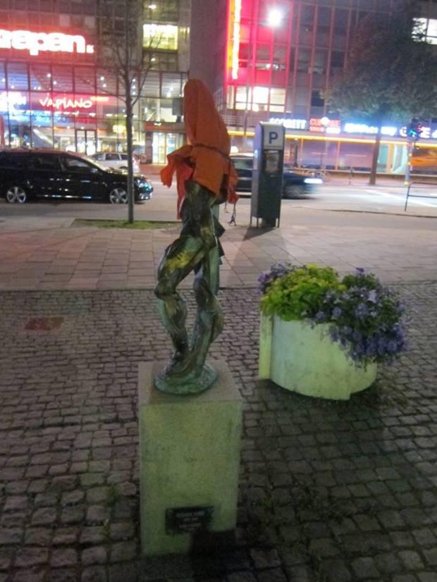 Street Art on Guantánamo in Stockholm, Sweden 2