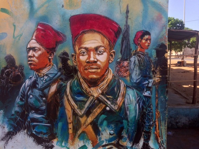 Street Art by C215 in Senegal 3