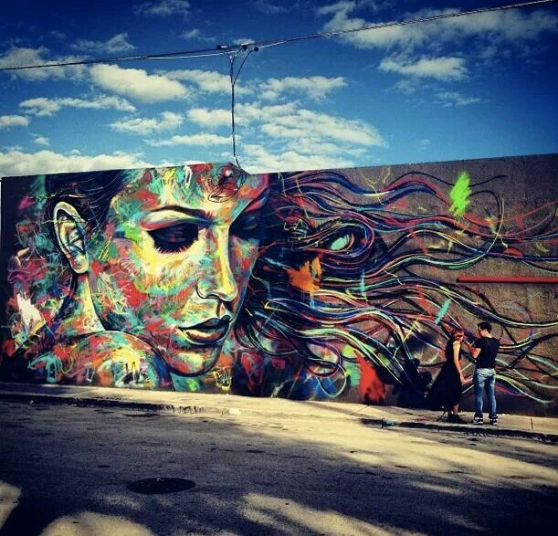 Street Art by david walker in Wynwood, Miami 36756