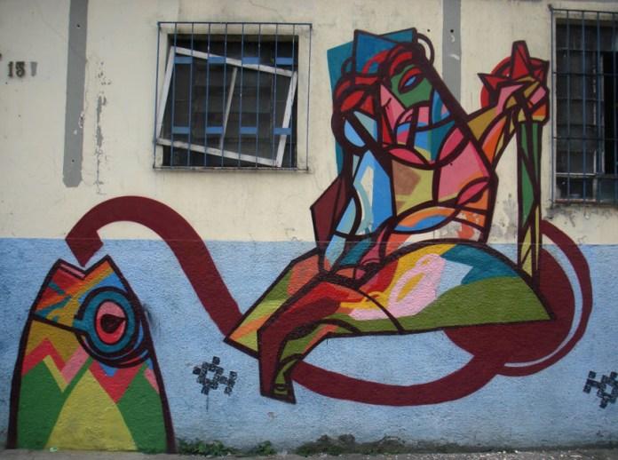 Street Art by SAO in São Paulo, Brazil 10