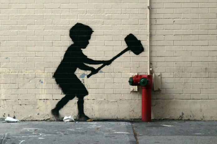 Street Art Collection - Banksy 100