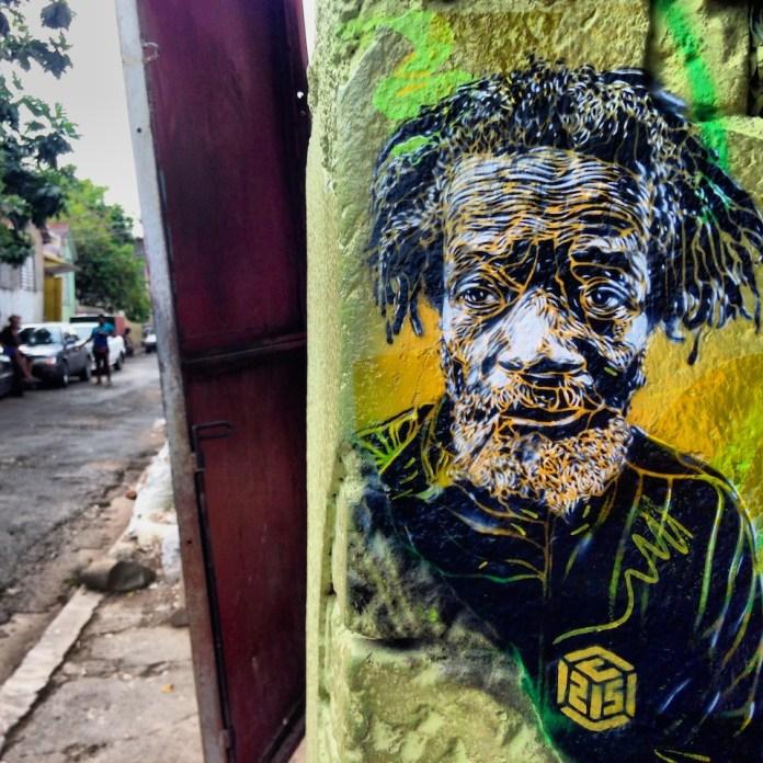 Street Art by C215 in Kingston, Jamaica 4
