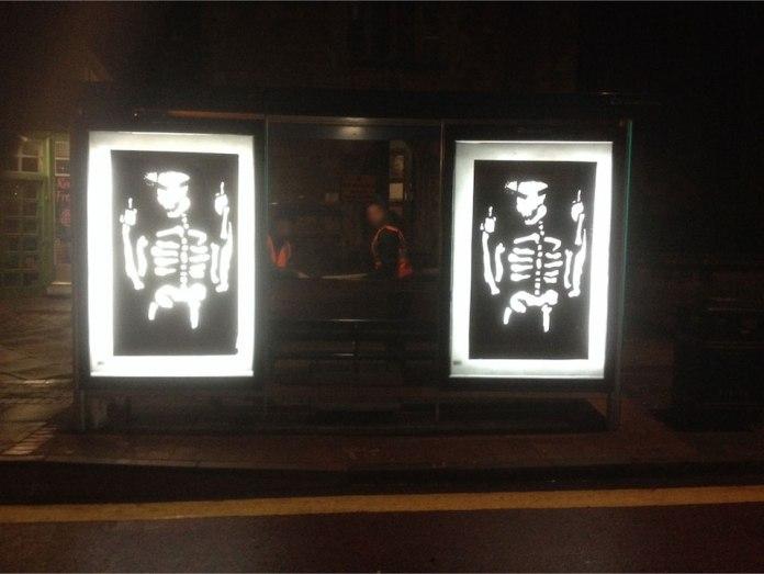 Brandalism - In Bristol. By Anthony Lister