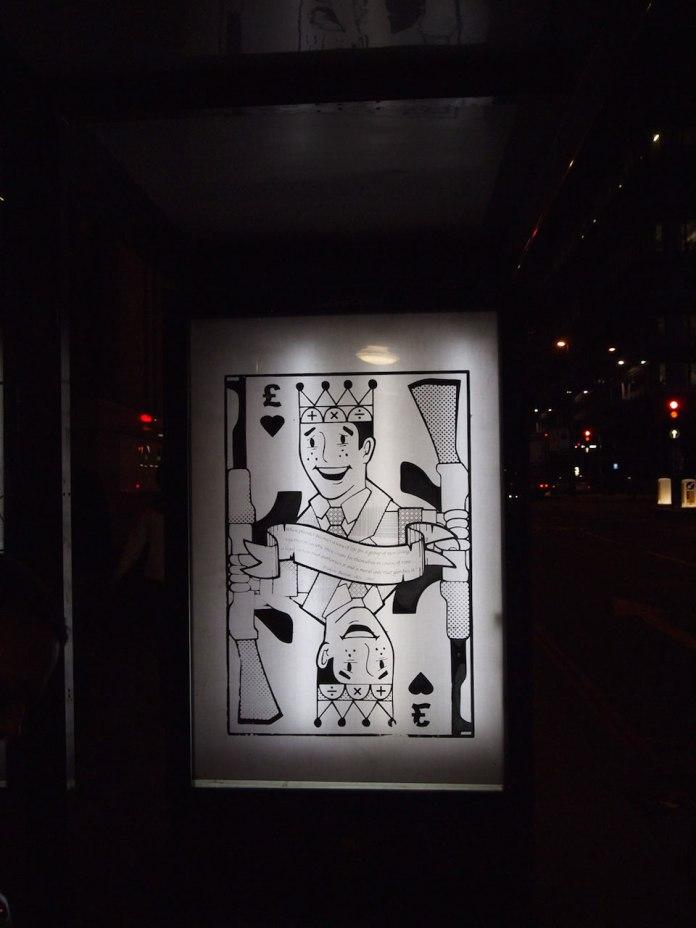 Brandalism - In London. By Dan Birkbeck