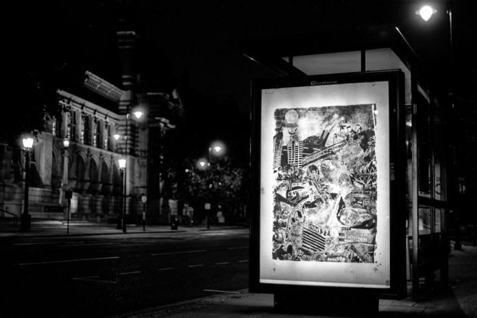 Brandalism - In London. By Gold Peg