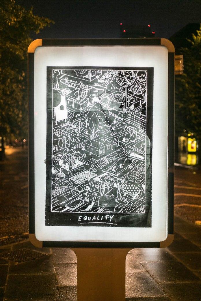 Brandalism - In Manchester. By Ghost Patrol