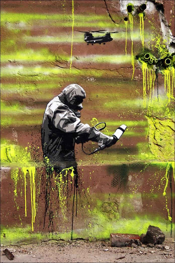 Street Art by Plotterroboter Ken in Berlin, Germany