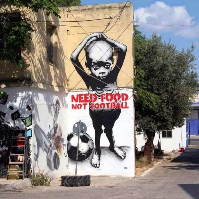 Need Food Not Football
