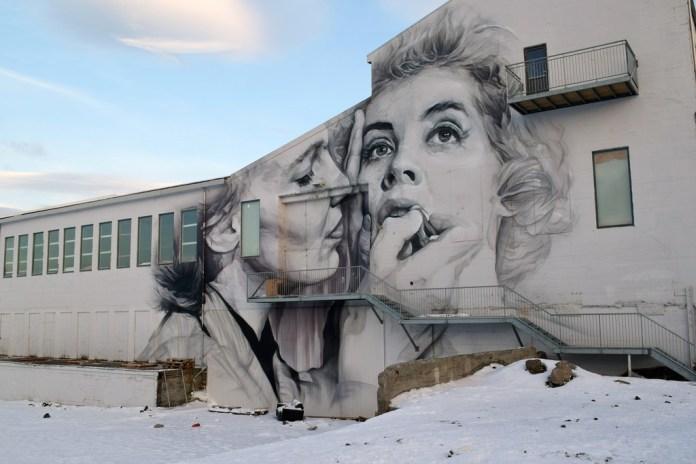 Street Art in Reykjavík, Island 1