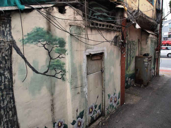 Street Art fromSeoul Area, South Korea. Photo byMark Johnson27